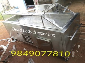 stainless steel dead body freezer box manufacturers