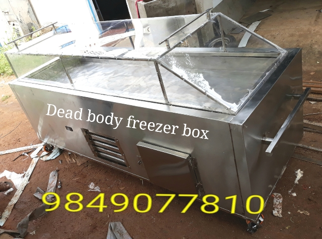shav peti , dead body ice box manufacturer