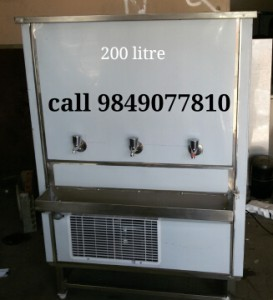200 litres water coolers