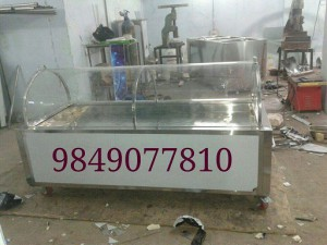 Dead Body cooling box round shape